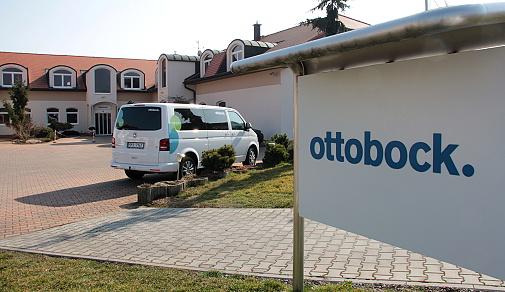 Firemní dům Ottobock ve Zruči-Senci na Plzeňsku
