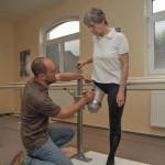 Zkouška protézy