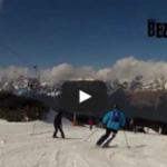 Beznohá jízda na lyžích