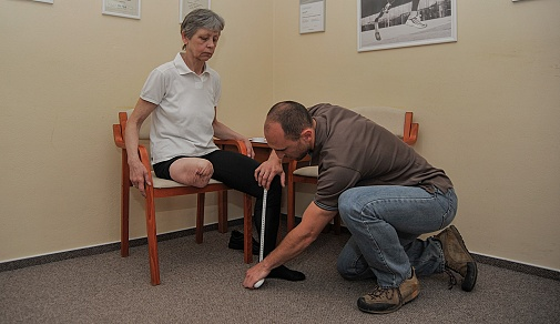 Vybavení protézou