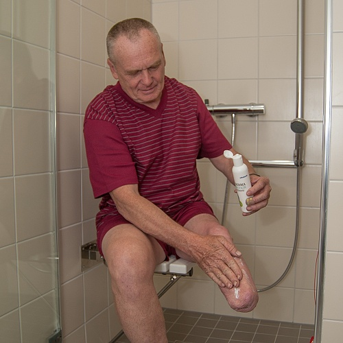 Hygiena pahýlu.