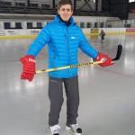 Hokejista bez nohy zpátky na ledě