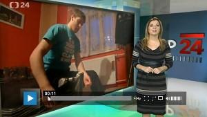 Odkaz na reportáž České televize o Romanu Bernatovi v pořadu Tep 24.