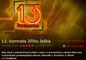 13. komnata Jiřího Ježka