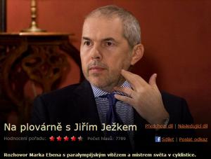 Na plovárně s Jiřím Ježkem.