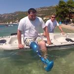 Žbluňk i do moře! Vodnická protéza…