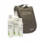 Kosmetické přípravky - Derma Skin Care – sada tří kosmetických přípravků s toaletní taškou