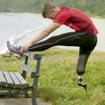 Nadkolenní sportovní protéza - Strečink a rozcvička