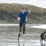 Nadkolenní sportovní protéza - Protéza pro vysoké zátěže