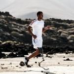 Běžecká protéza s chodidly Runner - Běh terénem