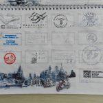 Razítka v našem cyklistickém pasu - etapa Lednice - Praha