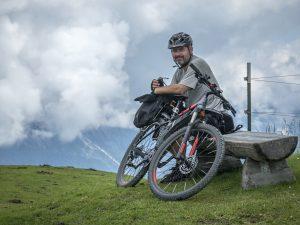 Tomáš Tykal na kole
