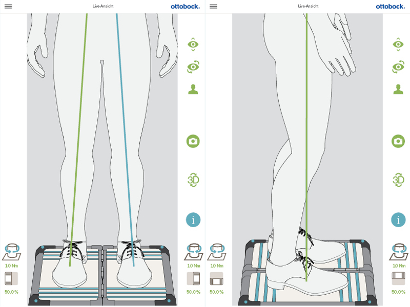 Měření vertikálních a horizontálních sil