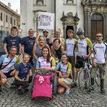 """V Klatovech jsme se sešli všichni včetně """"naší"""" Renči a její rodiny."""