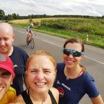 Posledních 10 km týmu A v letošním cyklomaratonu.