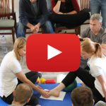 Ukázka cvičení pro aktivaci nohy