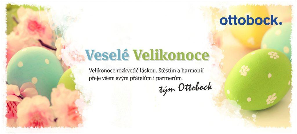 Velikonoční přání společnosti Ottobock