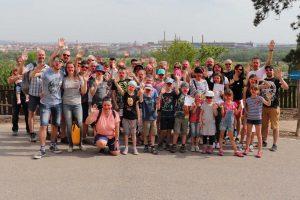 """Ottobock s rodinami na """"výběhu"""" pro Run and Help v plzeňské ZOO"""
