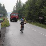 Na kole vlastně Jonáš pořádně nikdy neseděl, ale nebál se ani Tatry za zády.
