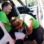 14. Hanina – řidička, kuchařka a fyzioterapeutka v jedné osobě – měla kvůli našim bolístkám o zábavu postaráno.