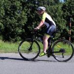 32. Pochválit musíme i Terku, která i přes absenci tréninku zvládla 120 kilometrů.