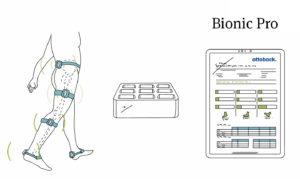 Bionic Pro - mobilní analýza chůze